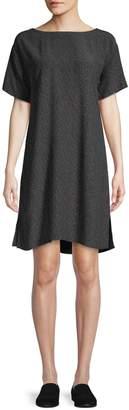 Eileen Fisher Morse Code Shift Dress