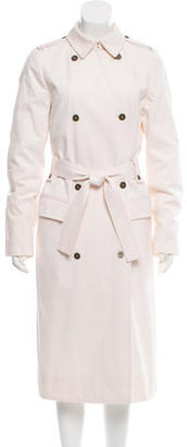Burberry Double-Breasted Trench Coat $495 thestylecure.com