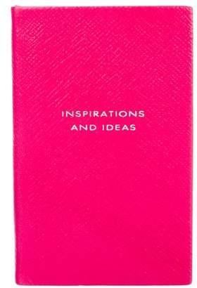 Smythson 'Inspirations & Ideas' Panama Notebook