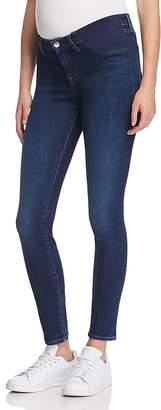 J Brand Mama J Skinny Maternity Jeans in Fleeting $198 thestylecure.com