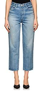 Moussy Women's Shelby Tapered Jeans - Blue
