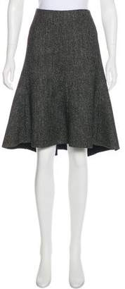 Celine Wool Knee-Length Skirt