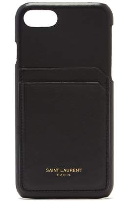 Saint Laurent iPhone® 8 leather phone case