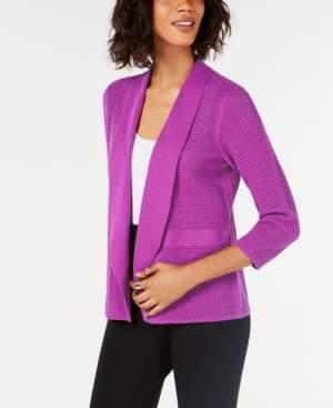 Alfani Open-Knit Cardigan, Created for Macy's