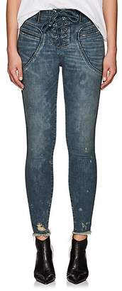 Icons Women's Valhalla Lace-Up Skinny Jeans