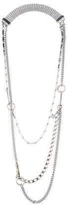 Celine Multistrand Chain-Link Necklace