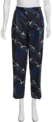 Marni Floral Print High-Rise Jeans