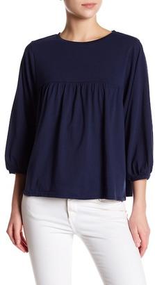 Olivia Sky Babydoll Shirt $58 thestylecure.com