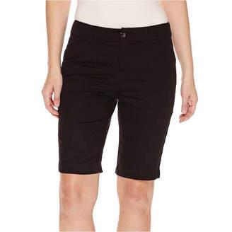 ST. JOHN'S BAY Secretly Slender 11 Bermuda Shorts