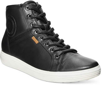 Ecco Women's Soft Vii High-Top Sneakers Women's Shoes