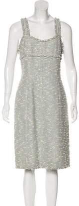 Chanel Bouclé Sheath Dress w/ Tags