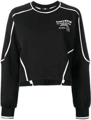 Converse logo printed sweatshirt