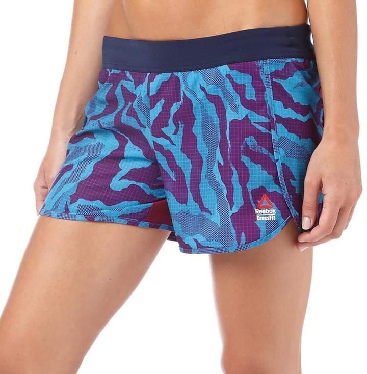 Damen CrossFit Ass To Ankle Shorts Blau