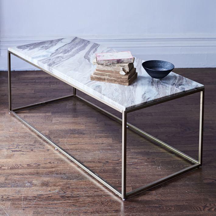 Mira Coffee Table - Swirled Sorbet