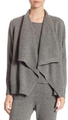 Akris punto Wool & Cashmere Cardigan $895 thestylecure.com