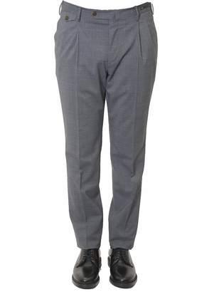 Pt01 Wool-linen Blends Trousers