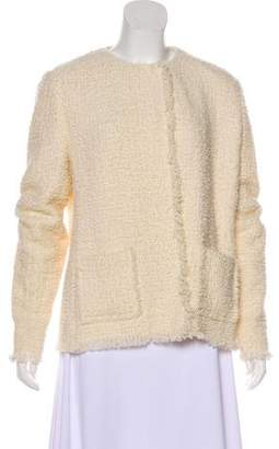 Ralph Lauren Purple Label Wool-Blend Tweed Jacket