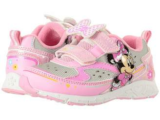Josmo Kids Minnie Double HL Lighted Sneaker (Toddler Little Kid) 76ef7ef6ced