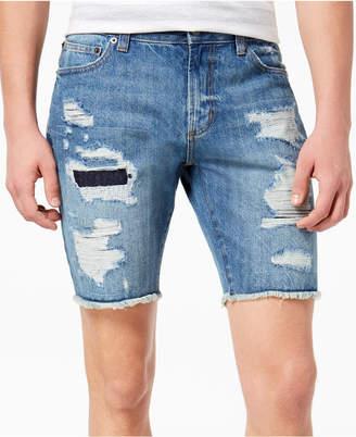 American Rag Men's Ripped Denim Shorts, Created for Macy's