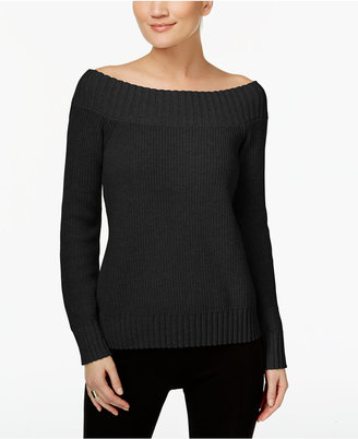 Inc International Concepts Off-The-Shoulder Sweater, Only at Macy's $69.50 thestylecure.com