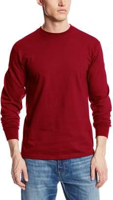 MJ Soffe Soffe Men's Men'S Long Sleeve Cotton T-Shirt