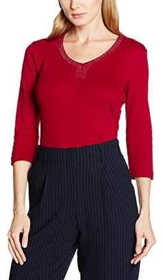 Olsen Women's T-Shirt, (Red Maple), (Size:36)