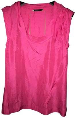 Anthropologie Pink Silk Top for Women