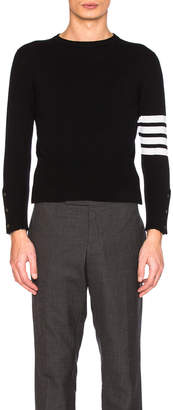 Thom Browne Classic Cashmere Pullover $1,500 thestylecure.com