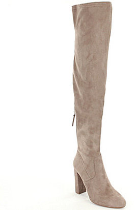 Steve Madden Emotions Over The Knee Pull On Back Zipper Boots $99.99 thestylecure.com