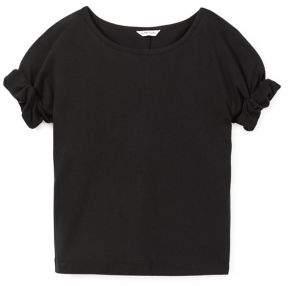 Habitual Girl's Isla Short-Sleeve Roll-Cuff Top
