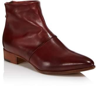 Alberto Fermani Women's Bellina Leather Low Heel Booties