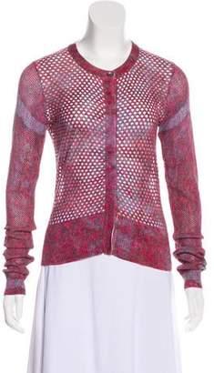 Edun Linen Perforated Cardigan