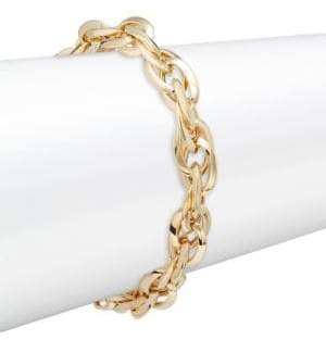 Made In Italy 14K Yellow Gold Twist Bracelet
