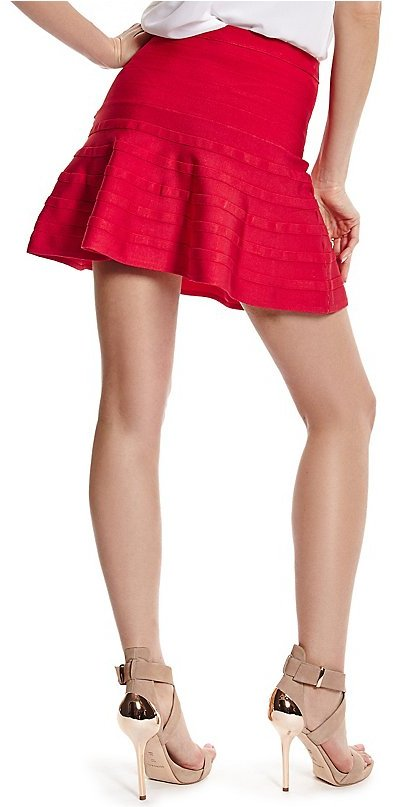 GUESS by Marciano Riva Fit-and-Flare Bandage Skirt