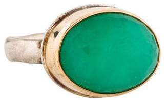 Jamie Joseph Chrysoprase Cocktail Ring