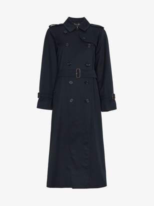 Burberry Restored 1980s Belted Double-Breasted Trench Coat