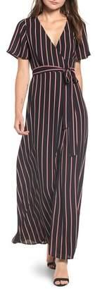 Leith Wrap Maxi Dress