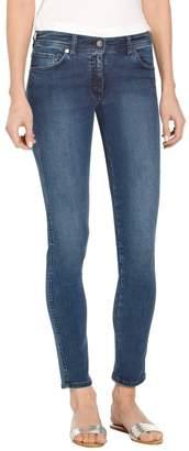 St. John Stretch Denim 5 Pocket Slim Ankle Jean