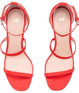 H&M Platform Sandals - Orange