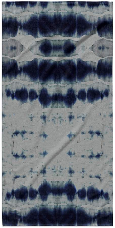 Kavka Designs Shibori Stripe Beach Towel