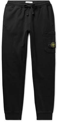 Stone Island Slim-Fit Tapered Loopback Cotton-Jersey Sweatpants