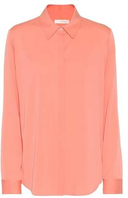 The Row Stretch-silk blouse