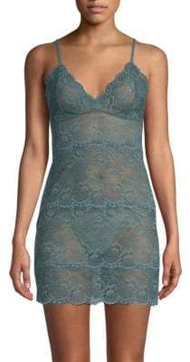Samantha Chang All Lace Slip Dress