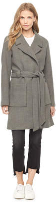 Milly DOUBLEFACE WOOL CLAIRE COAT
