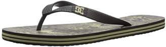 DC Men's Spray Graffik Three Point Sandal
