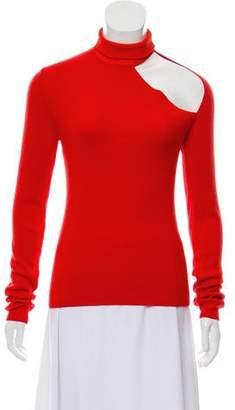 Dion Lee Wool Spiral Sleeve Skivvy Sweater