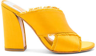 Dolce Vita Henry Mule in Mustard $130 thestylecure.com