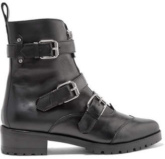 Tabitha Simmons Alex Leather Ankle Boots - Black