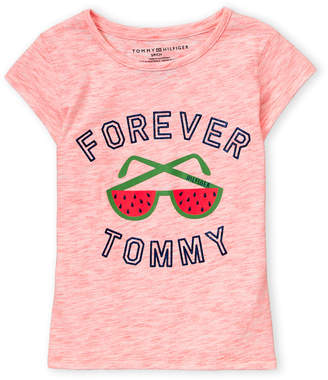 bb3b47c0a Tommy Hilfiger Girls 7-16) Shades Short Sleeve Tee