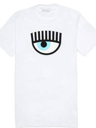 Chiara Ferragni Eye Print T-shirt